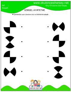 okul öncesi dikkat geliştirme çalışmaları Adhd Activities, Motor Skills Activities, Tracing Worksheets, Preschool Worksheets, Printable Mazes, Free Printables, Visual Perception Activities, Kids Study, Green Books