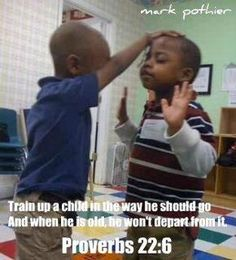 . Children praying for one another, love this pic (GOD IS AWESOME) LORD enable us to train our children!!