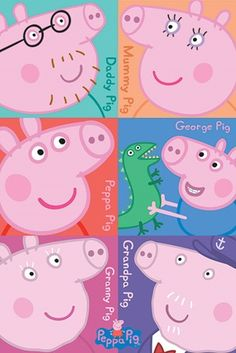 Character Collage, Peppa Pig - PopArtUK