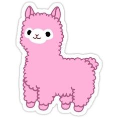 Kawaii stickers featuring millions of original designs created by independent artists. Stickers Cool, Stickers Kawaii, Red Bubble Stickers, Tumblr Stickers, Phone Stickers, Printable Stickers, Planner Stickers, Cute Laptop Stickers, Alpacas