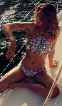 Zimmermann Porcelain Waterfall Bikini | Nic del Mar