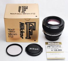 Nikon Noct NIKKOR 58mm f/1.2 AI-S Lens NEW from Japan miracle | eBay