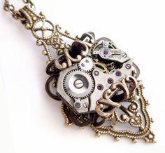 Family Decor Galaxy Tarantula Nebula Space Pendant Necklace Cabochon Glass Vintage Bronze Chain Necklace Jewelry Handmade