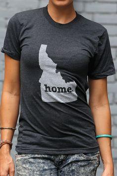 The Home. T - Idaho Home T (http://www.thehomet.com/idaho-home-t-shirt/) #TheHomeT