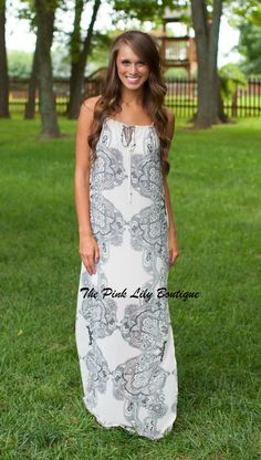 The Pink Lily Boutique - Forever And A Day Maxi , $38.00 (http://thepinklilyboutique.com/forever-and-a-day-maxi/)