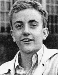 Kurt Vonnegut in his 1940 Shortridge High School yearbook