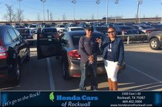 https://flic.kr/p/DBsJtJ | Congratulations Guadalupe on your #Honda #Civic Sedan from Christian Contreras at Honda Cars of Rockwall! | deliverymaxx.com/DealerReviews.aspx?DealerCode=VSDF