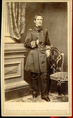 CIVIL WAR ADMIRAL,DAVID GLASGOW FARRAGUT ... ANTHONY CDV. At Burns & Co., we create rare historical art produced from prints, photographs, manuscripts, ancient texts, & reliefs. Visit: https://www.pinterest.com/BurnsCoGallery/ or call (888) 266-9385.