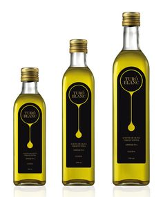 Olive oils come in the most beautiful packages.