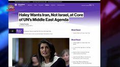 نیکی هیلی خواستار قرار گرفتن رژیم ایران در کانون دستور کار ملل متحد  – سیمای آزادی تلویزیون ملی ایران –  ۳۱ فروردین ۱۳۹۶