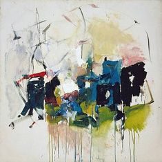 Joan Mitchell http://www.artnet.com/awc/joan-mitchell.html #abstract #painting