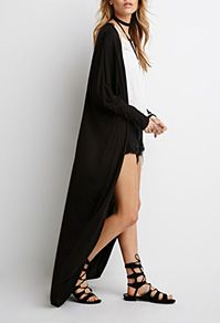 Dreamy Lace Maxi Cardigan, BLACK, large | Style | Pinterest | Maxi ...