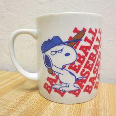 Vintage Snoopy Peanuts Mug Cup