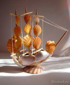 How to make seashell sail...