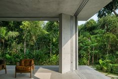 Dwell - A Concrete Home in Brazil Lets the Owners Practically Live in the Jungle
