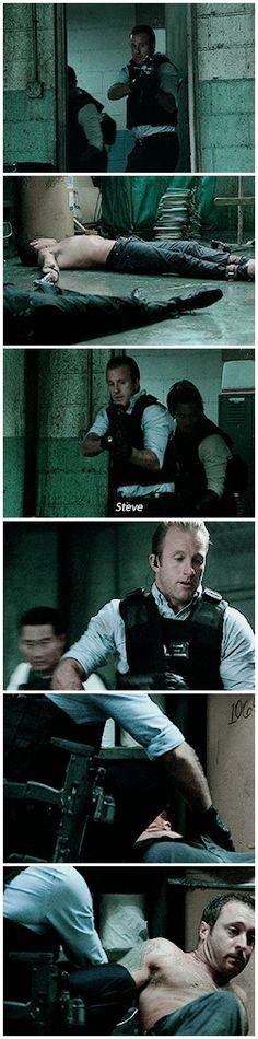 #5.07 #mcdanno #worried Danny finding half-dead Steve