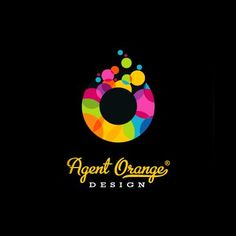 Colorful, fresh and bubbly! A fun use of colors for Agent Orange Design.