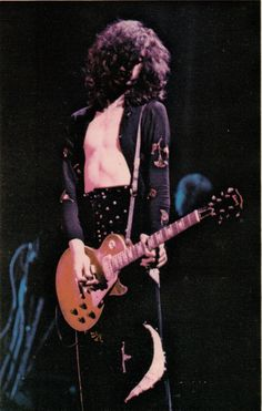 Jimmy Page - from the Led Zeppelin Earl's Court '75 programme