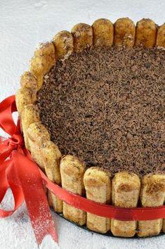 Tort tiramisu cu ciocolata - CAIETUL CU RETETE Mcdonalds, Food Art, Homemade, Ethnic Recipes, Sweet, Home, Pies, Candy, Home Made