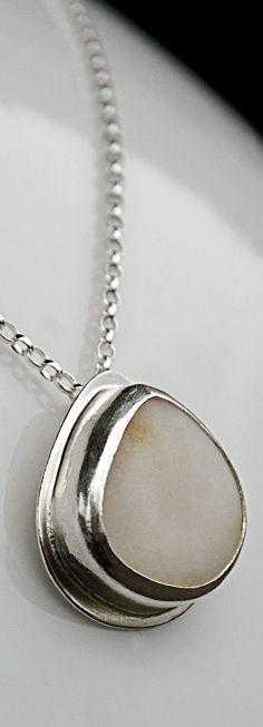 Chora -beachstone necklace. www.paulankorukauppa.net