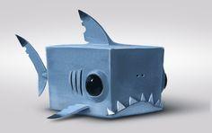 cube shark, romain flamand on ArtStation at…