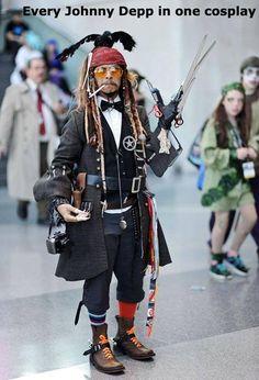 Cosplay WIN - Johnny Depp pro level