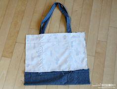 Sewing Machines Tote Women Shopping Bag Shoulder Bag Lady Handbag Pouch DIY Tutorial