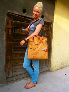 Camel Galileo City BagDouble compartimented by 74streetbags,