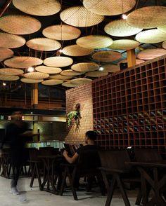 Noodle restaurant by Thaipan Studio, Thailand » Retail Design Blog #restaurantdesign
