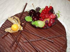 Opravdu čokoládový dort Culinary Arts, Cake Recipes, Pudding, Cheese, Food, Pies, Dump Cake Recipes, Meal, Eten