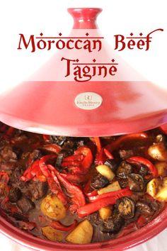 Emile Henry Tagine Road Test: Moroccan Beef Tagine and Creamed Polenta Beef Tagine Recipes, Moroccan Tagine Recipes, Moroccan Beef, Moroccan Dishes, Beef Recipes, Cooking Recipes, Healthy Recipes, Healthy Food, Tajin Recipes