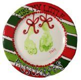 Christmas Handprints #asyouwishpottery