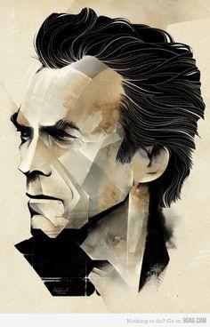 Clint Eastwood. <3<3<3
