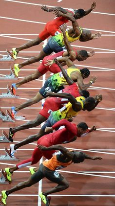 """Art - """"People in Action"""": London Olympics"""