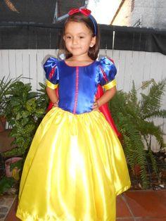 Snow White Inspired  girls  Size 2T-3, 8 Princess Dress Costume. $60.00, via Etsy.