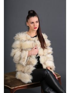 8475, Lans Style Fur Coat, Jackets, Women, Style, Fashion, Down Jackets, Swag, Moda, Fashion Styles