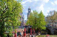 Kingsday in Utrecht.