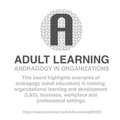 ADULT LEARNING / Board / Andragogy in Organizations