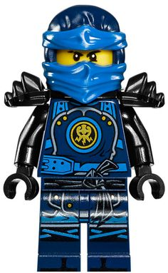 Jay Walker is the blue ninja of lightning minifigure released in 2011 with the Ninjago theme. He is the second Ninja recruited by Sensei Wu and the first of the Ninja to learn Spinjitzu. He is the Elemental Master of lightning. He is the main protagonist of the theme's 2016 storyline. His love interest is Kai's sister, Nya. His adoptive parents are Ed Walker and Edna Walker, while his birth parents were Cliff Gordon and the previous Master of Lightning. Jay appears in fourteen physica... Legos, Minifigura Lego, Lego Ninjago Nya, Ninjago Party, Custom Wall Decals, Kids Wall Decals, Mirror Wall Stickers, Custom Vinyl, Lego Racers
