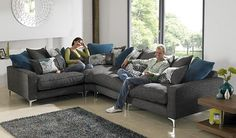 what colour cushions on gray couch 2014 - Cuardach Google