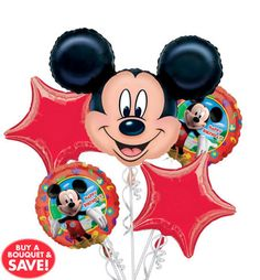 Mickey Mouse Party Theme Decorations Balloons Pick Your Style