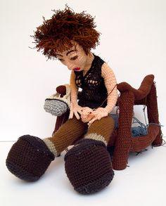 crochet doll by Neta Amir