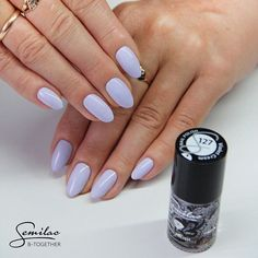 Pastel colours are on trend every time!  Today's colour: Semilac Violet Cream! Who loves this colour?  Shop online: www.semilac.co.uk  #semilacuk #semilacnails #nails #nailstagram #nailswelove #nailswag #nailaddict #nailart #nailartist #instanails #nails2inspire #nails2017 #nailsoftheday #picoftheday #instanails #follow #pastelnails #past