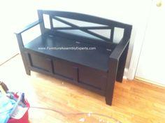 Wayfair Osp Design Bench Embled In Washington Dc For A Customer Moving Her House By Furniture Emblywashington