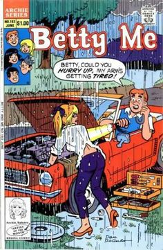 Betty and Me 183, Archie Comic Publications, Inc. https://www.pinterest.com/citygirlpideas/archie-comics/