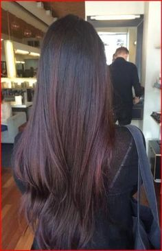 Hair Color Red Dark Brown Brunettes 63 Ideas | 1001 Hair Color Highlights, Ombre Hair Color, Hair Color For Black Hair, Blonde Color, Cool Hair Color, Brown Hair Colors, Color Red, Hair Colour, Black Hair With Red