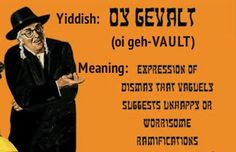 Sometimes you just need Yiddish to really get the job done. Don& be a shtik fleisch mit tzvei eigen! Jewish Quotes, Jewish Humor, Words To Use, Some Words, Hebrew School, How To Read People, Learn Hebrew, Hebrew Words, Jewish History