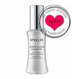 Payot Serum Suprême Jeunesse Concentré es un suero de textura ligera que combate los signos de envejecimiento como textura, arrugas, tono gracias a la Vitamina C y el ácido hialurónico.