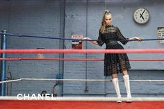 Cara Delevingne in Chanel's Fall 2014 Campaign: Boxing Is Officially Fashion's Favorite Sport