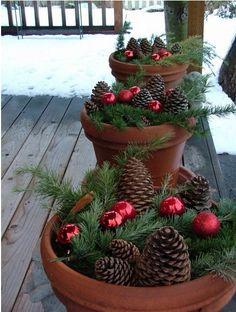 Weihnachtstöpfe